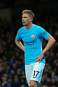 3rd December 2017, Etihad Stadium, Manchester, England; EPL Premier League football, Manchester City versus West Ham United; Kevin De Bruyne of Manchester City