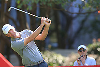 Lucas Glover (USA) on the 3rd tee during the 2nd round of the WGC HSBC Champions, Sheshan Golf Club, Shanghai, China. 01/11/2019.<br /> Picture Fran Caffrey / Golffile.ie<br /> <br /> All photo usage must carry mandatory copyright credit (© Golffile   Fran Caffrey)