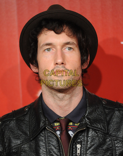 SAM ENDICOTT.US Weekly's Hot Hollywood Party 2009 held at Voyeur, West Hollywood, California, USA. .November 18th, 2009.headshot portrait black hat stubble facial hair .CAP/RKE/DVS.©DVS/RockinExposures/Capital Pictures.