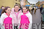 Having a look around at the Fair in Athea on Saturday were Aime?e Griffin, Laura Quille and rachel Griffin.   Copyright Kerry's Eye 2008