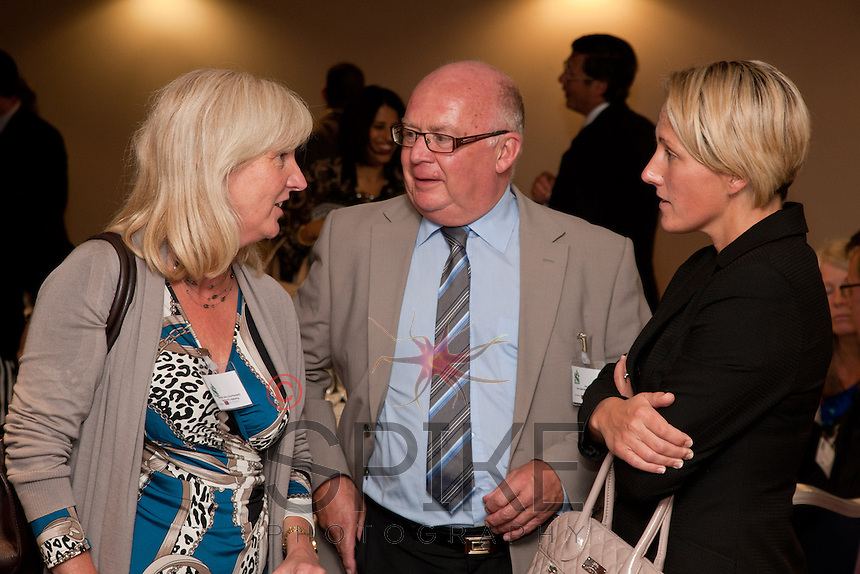 From left, Dianne Allen of Gemini PR & Marketing, Ron Glen of Ron Glen Management and Donna Bickley of Inside Out Technical Security