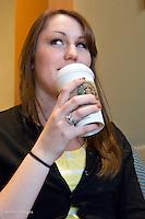 Sarah @ the hardware store & Starbucks