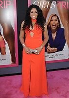www.acepixs.com<br /> <br /> July 13 2017, LA<br /> <br /> Tracy Oliver arriving at the premiere of Universal Pictures' 'Girls Trip' at the Regal LA Live Stadium 14 on July 13, 2017 in Los Angeles, California.<br /> <br /> <br /> By Line: Peter West/ACE Pictures<br /> <br /> <br /> ACE Pictures Inc<br /> Tel: 6467670430<br /> Email: info@acepixs.com<br /> www.acepixs.com
