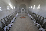 Easter, Holy Saturday (Le Samedi Saint) at the Monastery of the Sisters of Bethlehem of the Assumption of the Virgin and of Saint Bruno in Beth Gemal, Israel<br />