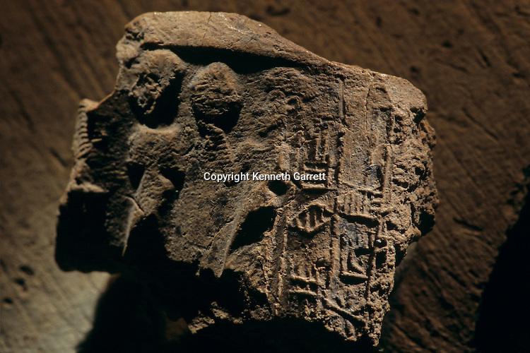 Urkesh, Hurrian Empire, Syria, 2400 BC, Giorgio Buccellati, mud seal impression with the name of Urkesh