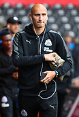 10th September 2017, Liberty Stadium, Swansea, Wales; EPL Premier League football, Swansea versus Newcastle United; Jonjo Shelvey of Newcastle United arrives at the Liberty Stadium