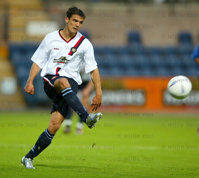 Nacho Novo, Dundee.stock season 2003-04..pic willie vass