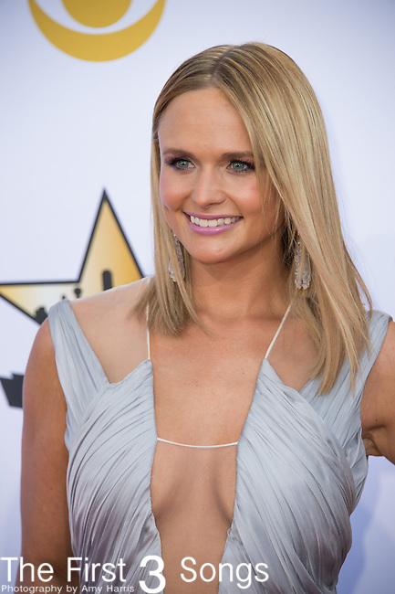 Miranda Lambert attends the 50th Academy Of Country Music Awards at AT&T Stadium on April 19, 2015 in Arlington, Texas.