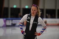 SCHAATSEN: LEEUWARDEN, 22-10-2016, Elfstedenhal,  KNSB Trainingswedstrijden, Helga Drost, ©foto Martin de Jong