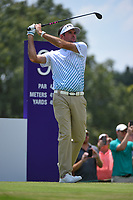 Bubba Watson (USA) watches his tee shot on 9 during round 3 of the WGC FedEx St. Jude Invitational, TPC Southwind, Memphis, Tennessee, USA. 7/27/2019.<br /> Picture Ken Murray / Golffile.ie<br /> <br /> All photo usage must carry mandatory copyright credit (© Golffile | Ken Murray)