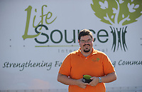 NWA Democrat-Gazette/ANDY SHUPE<br /> Jimmie Conduff, executive director of LifeSource International in Fayetteville, is preparing for the organization's annual Empty Bowls fundraising event. Tuesday, Oct. 20, 2015.