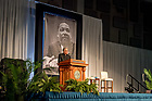 January 22, 2018; Notre Dame president Rev. John I. Jenkins, C.S.C. speaks at the 2018 MLK Luncheon (Photo by Matt Cashore/University of Notre Dame)