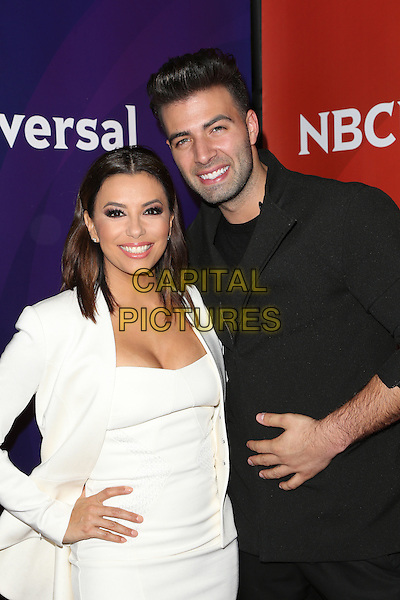 Pasadena, CA - January 13: Eva Longoria, Jencarlos Canela Attending 2016 Winter TCA Tour - NBCUniversal Press Tour At The Langham Hotel  California on January 13, 2015. <br /> CAP/MPI/FS<br /> &copy;FS/MPI/Capital Pictures