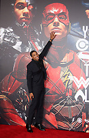 LOS ANGELES, CA - NOVEMBER 13: Ray Fisher, at the Justice League film Premiere on November 13, 2017 at the Dolby Theatre in Los Angeles, California. <br /> CAP/MPI/FS<br /> &copy;FS/MPI/Capital Pictures