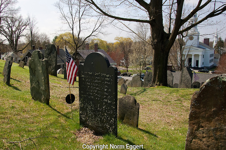Old Hill Burying Ground, Concord, MA