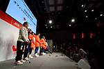 General view, <br /> NOVEMBER 1, 2017 : <br /> A press conference about presentation of Japan national team official sportswear <br /> for the 2018 PyeongChang Winter Olympic and Paralympic Games, in Tokyo, Japan. <br /> (Photo by Naoki Nishimura/AFLO)