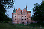 Gorgeous Egeskov Castle at Twilight