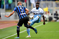 Andrea Masiello of Atalanta and Felipe Caicedo of Lazio compete for the ball <br /> Roma 5-5-2019 Stadio Olimpico Football Serie A 2018/2019 SS Lazio - Atalanta <br /> Foto Andrea Staccioli / Insidefoto