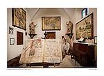 Sacracy museum, Convent of St. Bernard, Petra, Mallorca, Spain.