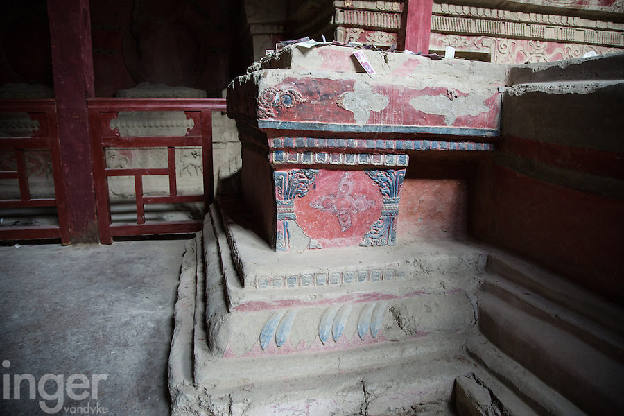 Inside the Palace Complex at Guge, Western Tibet