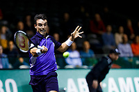 Rotterdam, The Netherlands, 12 Februari 2020, ABNAMRO World Tennis Tournament, Ahoy, Roberto Bautista Agut (ESP).<br /> Photo: www.tennisimages.com