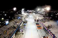 SAO PAULO, SP, 08 FEVEREIRO 2013 - CARNAVAL SP  - Vista geral  do Sambódromo do Anhembi antes do inicio dos defiles do Grupo Especial na região norte da capital paulista, nesta sexta-feira, 08. (FOTO: VANESSA CARVALHO/ BRAZIL PHOTO PRESS).