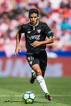 Jesus Navas Gonzalez of Sevilla FC in action during the La Liga 2017-18 match between Atletico de Madrid and Sevilla FC at the Wanda Metropolitano on 23 September 2017 in Wanda Metropolitano, Madrid, Spain. Photo by Diego Gonzalez / Power Sport Images