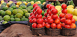 Produce in a market near Thyolo, in southern Malawi.