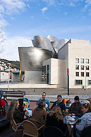 Guggenhiem Museum. Bilbao travel assignment National Geographic Traveler en Español. Bilbao, Spain, December 2008