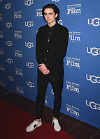 SANTA BARBARA, CA - FEBURARY 3:  Timothee Chalamet at the 33rd Santa Barbara International Film Festival - Virtuosos Award at the Arlington Theatre on February 3, 2018 in Santa Barbara, California. (Photo by Scott Kirkland/PictureGroup)