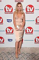 LONDON, UK. September 10, 2018: Tilly Keeper at the TV Choice Awards 2018 at the Dorchester Hotel, London.<br /> Picture: Steve Vas/Featureflash