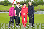 TEAM: Ladies from Ardfert Golf Club who supported the Oyster Tavern Golf Classic, on Saturday L-r: Goretti O'Connor, Mary Savage, Liz O'Carroll and Fionnula Mann.....
