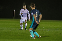 Monday  19 December 2014<br /> Pictured: Ryan Blair of Swansea City in action <br /> Re: Swansea City U23 v Middlesbrough u23 at the Landore Training Facility, Swansea, Wales, UK