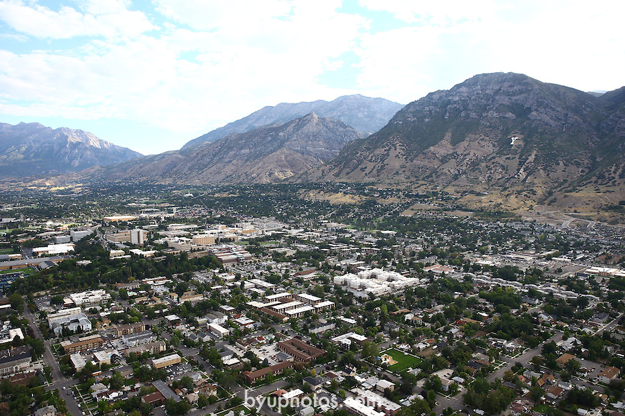 1309-22 2768<br /> <br /> 1309-22 BYU Campus Aerials<br /> <br /> Brigham Young University Campus, Provo, <br /> <br /> Downtown Provo City, Utah Valley, Y Mountain, Sunrise<br /> <br /> September 6, 2013<br /> <br /> Photo by Jaren Wilkey/BYU<br /> <br /> &copy; BYU PHOTO 2013<br /> All Rights Reserved<br /> photo@byu.edu  (801)422-7322