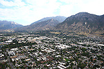 1309-22 2768<br /> <br /> 1309-22 BYU Campus Aerials<br /> <br /> Brigham Young University Campus, Provo, <br /> <br /> Downtown Provo City, Utah Valley, Y Mountain, Sunrise<br /> <br /> September 6, 2013<br /> <br /> Photo by Jaren Wilkey/BYU<br /> <br /> © BYU PHOTO 2013<br /> All Rights Reserved<br /> photo@byu.edu  (801)422-7322
