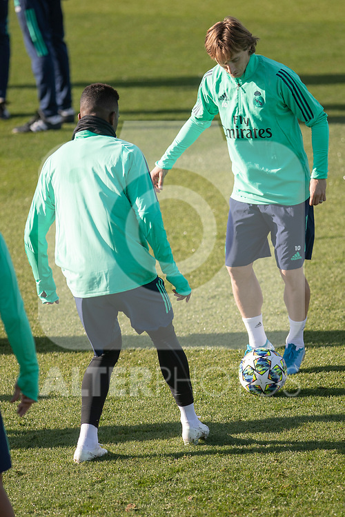 Real Madrid's Luka Modric  during training session. <br /> November 25 ,2019.<br /> (ALTERPHOTOS/David Jar)
