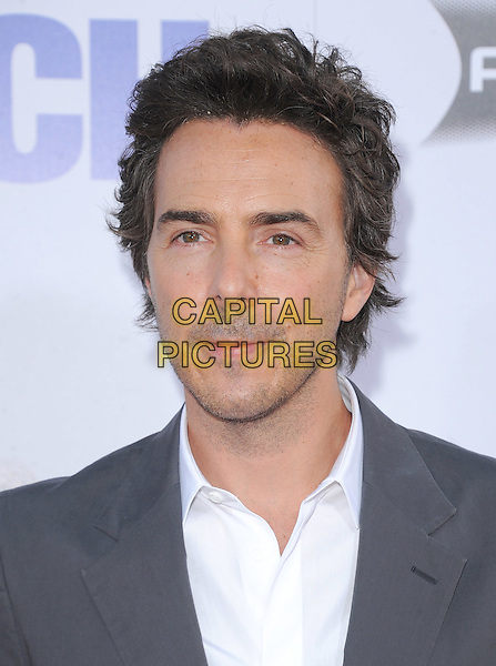 Shawn Levy.The L.A. Premiere of 'The Watch' held at The Grauman's Chinese Theatre in Hollywood, California, USA..July 23rd, 2012  .headshot portrait white grey gray stubble facial hair .CAP/RKE/DVS.©DVS/RockinExposures/Capital Pictures.