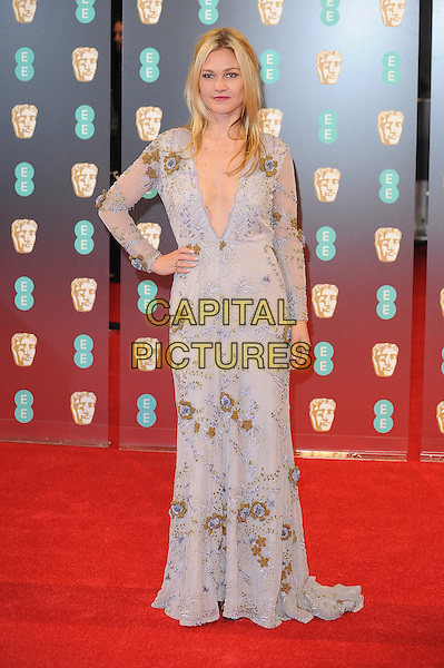 LONDON, ENGLAND - FEBRUARY 12: Julia Stiles attends the 70th EE British Academy Film Awards (BAFTA) at Royal Albert Hall on February 12, 2017 in London, England.<br /> CAP/BEL<br /> &copy;BEL/Capital Pictures