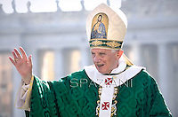Pope Benedict XVI   Holy Mass for the opening of the Year of Faith. in Saint Peter's Square at the Vatican.. 11 October, 2012