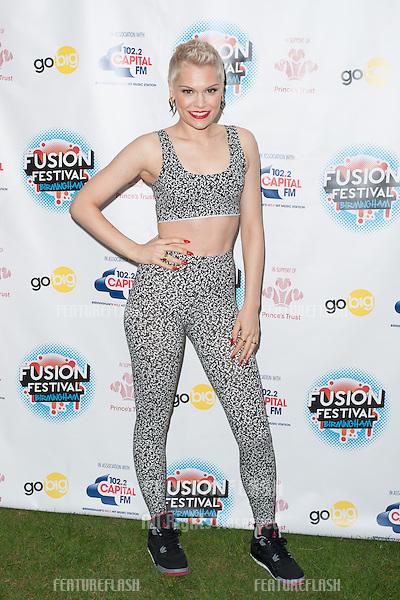 Jessie J at Fushion Festival, Birmingham. 31/08/2013 Picture by: Dave Norton / Featureflash