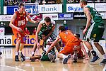 S&ouml;dert&auml;lje 2014-01-03 Basket Basketligan S&ouml;dert&auml;lje Kings - Bor&aring;s Basket :  <br /> S&ouml;dert&auml;lje Kings John Roberson i kamp om bollen med Bor&aring;s Mike Palm , Bor&aring;s Fredrik Andersson och S&ouml;dert&auml;lje Kings Mantas Griskenas  <br /> (Foto: Kenta J&ouml;nsson) Nyckelord: