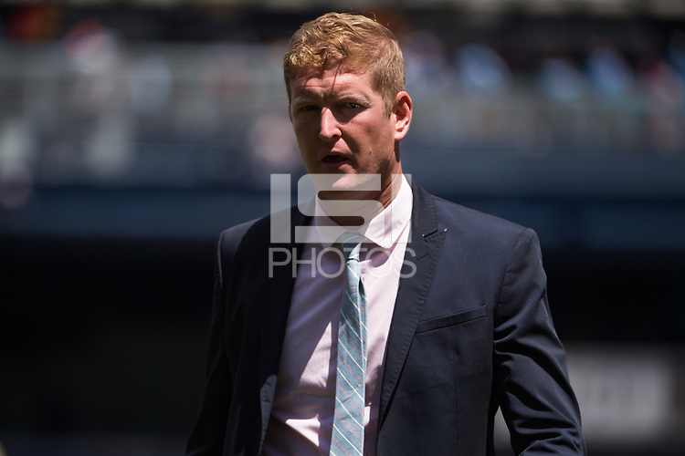 BRONX, New York - Saturday, June 3, 2017: New York City FC takes on defeats the Philadelphia Union 2-1 at home at Yankee Stadium during the MLS regular season.