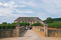 Winery building. Louis Latour. Aloxe-Corton village, Cote de Beaune, d'Or, Burgundy, France