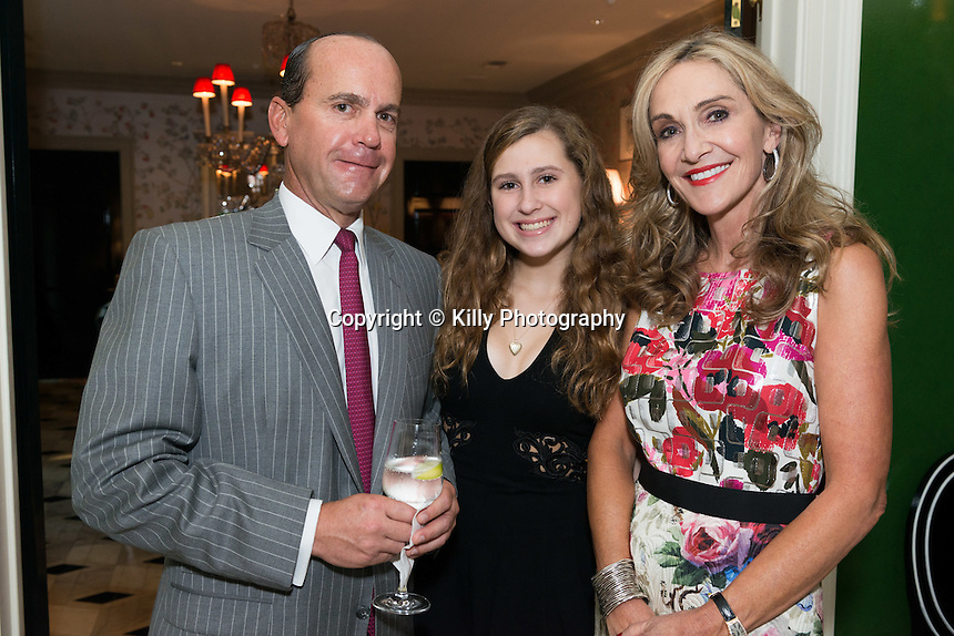 Memorial Hermann Cultivation Event at Lindsay and Rand Holstead's home