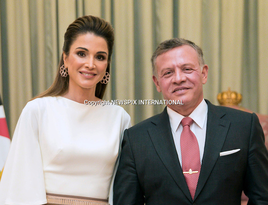 25.05.2017; Amman, Jordan: QUEEN RANIA AND KING ABDULLAH II<br /> attend the national celebrations on the occasion of the 71st anniversary of Jordan's Independence Day at Raghadan Palace, Amman<br /> Mandatory Photo Credit: &copy;RHC/NEWSPIX INTERNATIONAL<br /> <br /> IMMEDIATE CONFIRMATION OF USAGE REQUIRED:<br /> Newspix International, 31 Chinnery Hill, Bishop's Stortford, ENGLAND CM23 3PS<br /> Tel:+441279 324672  ; Fax: +441279656877<br /> Mobile:  0777568 1153<br /> e-mail: info@newspixinternational.co.uk<br /> &ldquo;All Fees Payable To Newspix International&rdquo;
