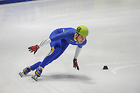 SHORTTRACK: DORDRECHT: Sportboulevard Dordrecht, 24-01-2015, ISU EK Shorttrack Ranking Races, Jacob JANSSON (SWE | #68), ©foto Martin de Jong