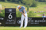Marcel Siem teeing off on the 6th on day two of the Celtic Manor wales Open 2010.Picture Fran Caffrey/Newsfile.ie