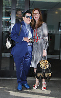 NEW YORK, NY August 09: Lea Delaria and Dana Delany seen after an appearance at Good Day New York in New York City on August 09, 2018. Credit: RW/MediaPunch
