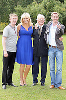 18/8/2010. RTE RADIO NEW SEASON LAUNCH. Radio presenters Hector Ó hEochagáin, Miriam O' Callaghan, Gay Byrne and Ryan Tubridy,  are pictured at the RTE Radio new Autumn season launch in Dublin. Picture James Horan/Collins Photos