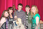 Nolle O'Connor, Agnes Fitzgerald, Brosna, Luke Brennan Ballybunion, Ronan Kerin, Listowel and Michelle Reidy Duagh.   Copyright Kerry's Eye 2008